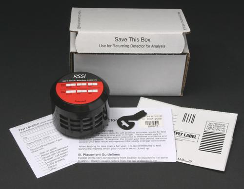 Do it yourself alpha track radon gas test kit solutioingenieria Images